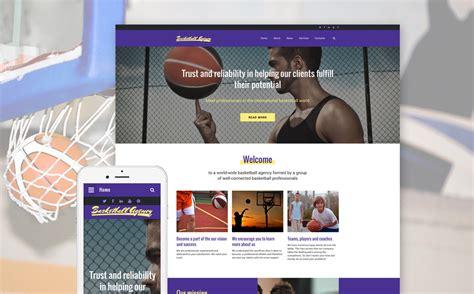 Basketball Website Template Basketball Team Website Template