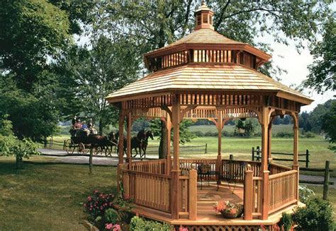 wood gazebo kits gazebos from vixen hill gazebo kits wood gazebos