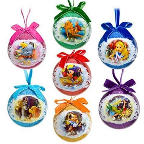 world of disney decoupage ornament set from our christmas