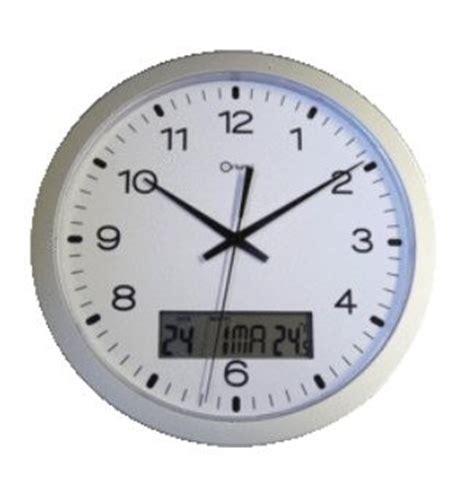 horloge murale affichage digital horloge murale 224 233 cran digital 216 300 mm horloges siderm 233 ca