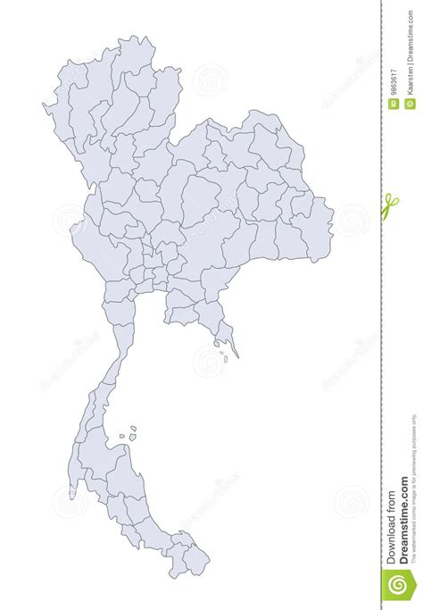 thailand map ai map thailand royalty free stock photography image 9863617