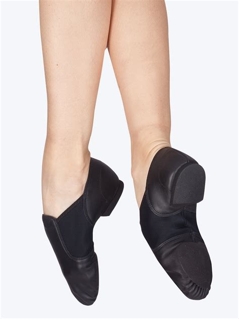free shipping quot e series quot slip on jazz shoe by capezio