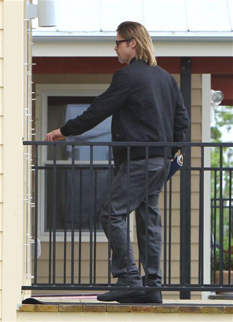 Stylish Who Got It Right Brad Pitt Ludacris Ben Affleck by More Pics Of Brad Pitt Bomber Jacket 9 Of 26 Brad Pitt