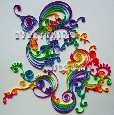 Cool Crafts With Paper - cool paper crafts color