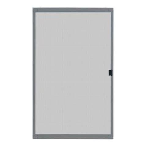 Screen Patio Doors Home Depot Unique Home Designs Standard 48 In X 80 In Metal Grey Sliding Patio Screen Door Ispm200048gry