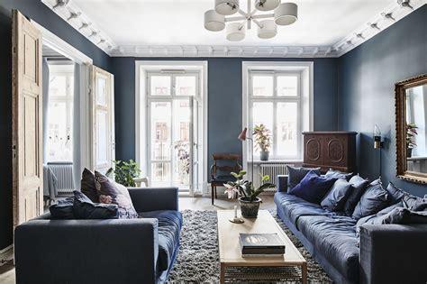 Interieur Blauw Grijs blauw en grijs voeren de boventoon in dit interieur roomed