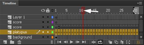 flash tutorial timeline how to use the timeline in animate cc