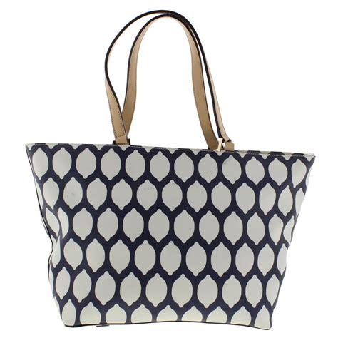Katespade Jules Colorblock Large kate spade 5102 womens jules grant navy tote handbag large bhfo ebay