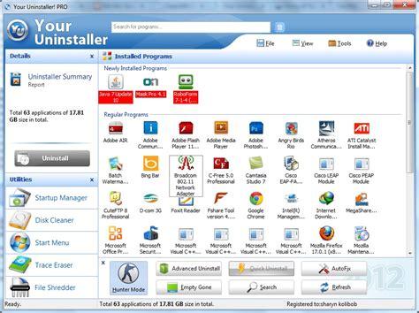 download full version your uninstaller download your uninstaller 7 5 pro mới nhất 2013 full key
