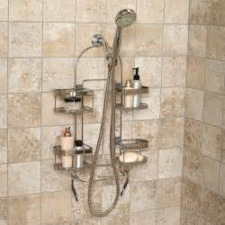 shower bath set zenith products premium expandable shower caddy for hand