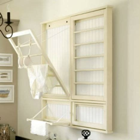 laundry room drying rack ideas 27 space saving tricks and techniques for tiny houses page 2 of 3 webecoist