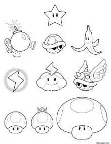 super mario koopa wario toad coloring pages printable