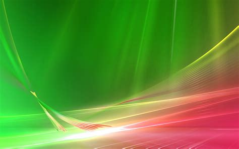 glowing pink and green curves wallpaper 2843