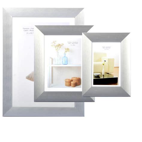bilderrahmen silber matt 3 gr 246 223 en bilderrahmen silber matt fotorahmen bilder rahmen