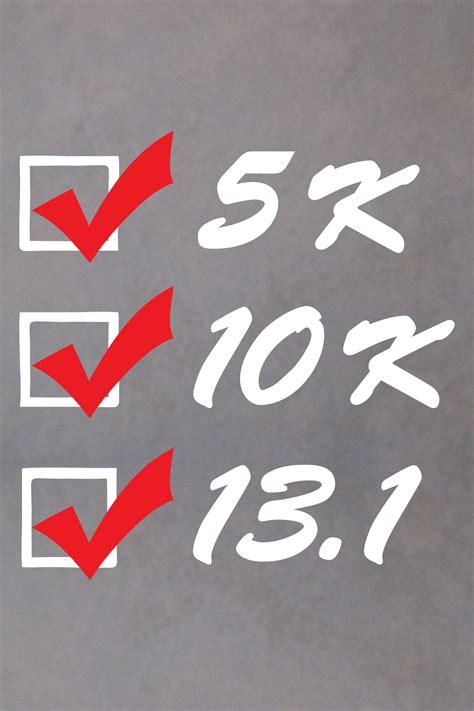Half Marathon Stickers