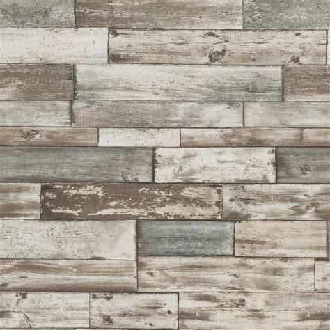 Wall 3d Brick Br1317 Blue erismann authentic wood panel wallpaper in grey 7319 10