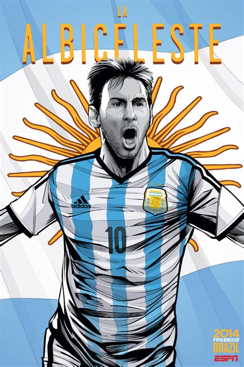 argentina world cup view world cup posters for all 32 teams at brazil 2014