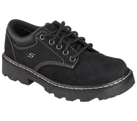 skechers oxford shoes skechers s mate black oxford shoe shoes