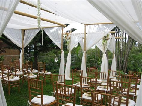 Go Outdoors In Comfort With A Comp Shade by Two Hearts Weddings Stay Cool Summertime Weddings