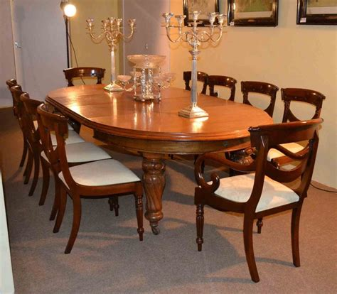 antique victorian dining table   chairs circa