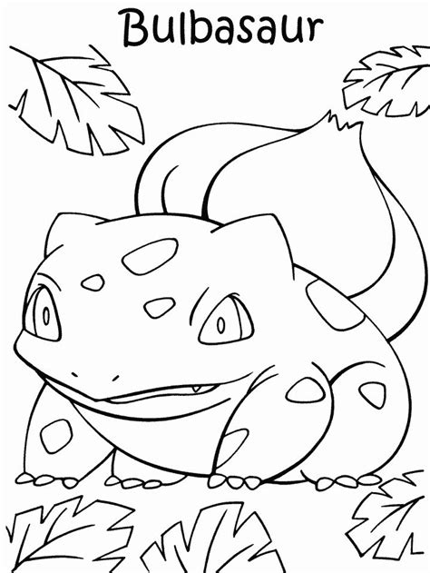 pokemon coloring pages of bulbasaur bulbasaur coloring page az coloring pages