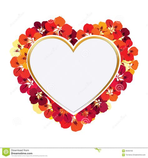 design frame love valentine day gift card holiday love heart shape banner