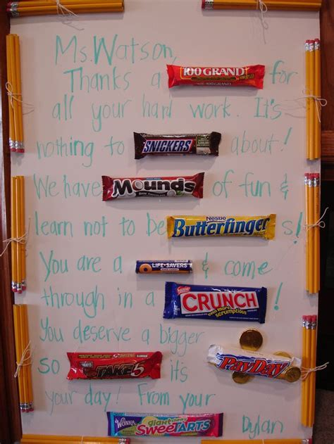 Letter Using Chocolate Bars 1000 Images About Bar Letter On Secret Santa Gifts Bars And