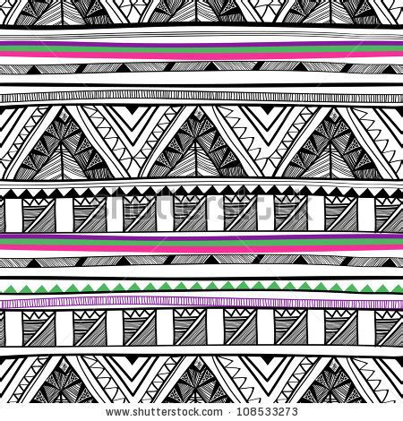 tribal pattern design images tribal vector pattern stock vector