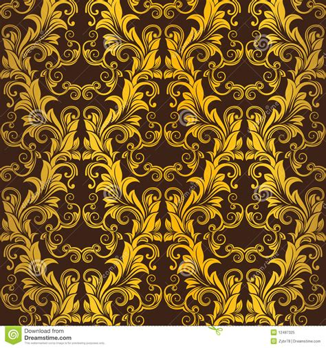wallpaper free copyright gold seamless wallpaper royalty free stock photo image