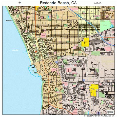 california map redondo redondo ca