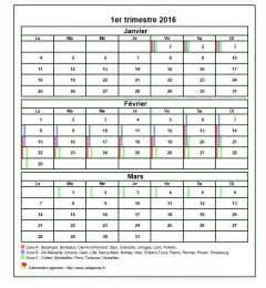Calendrier 4e Trimestre 2017 Calendrier Scolaire Trimestriel 2016 Clrdrs