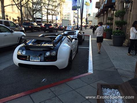 bugatti veyron spotted in los angeles california on 11 22