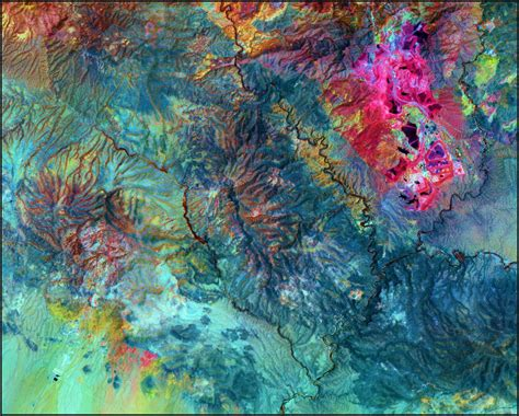 imagenes satelitales aster aster satellite image morenci mine satellite imaging corp