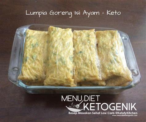 Resep Membuat Kulit Lumpia Dan Isinya | resep membuat lumpia isi daging ayam keto menu diet