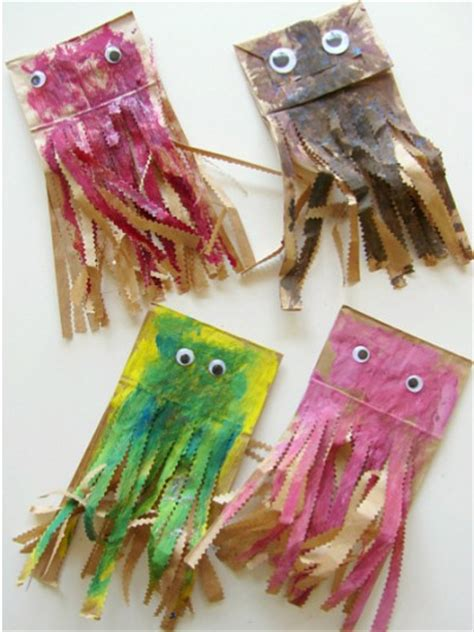 paper bag fish craft 40 easy craft ideas to make this summer