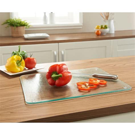 tempered glass chopping board kitchen bm