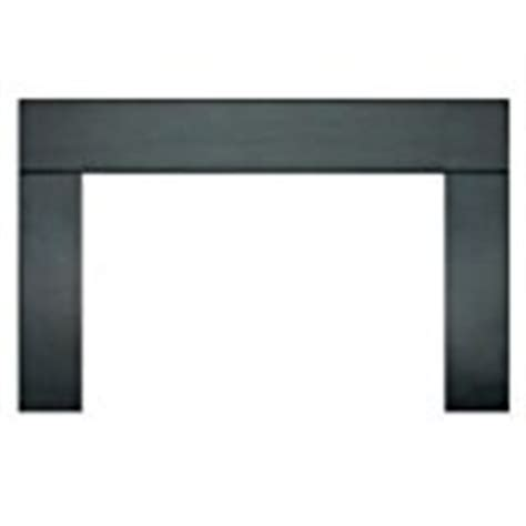 Metal Fireplace Surround Kit by Surround Trim For Wood Stove