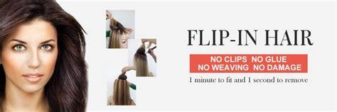 flip in hair how to apply flip in hair flip in hair extensions