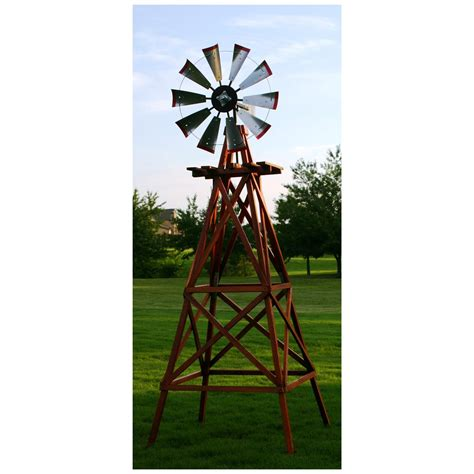 windmill backyard outdoor water solutions 174 10 wood backyard windmill