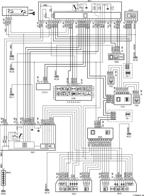 peugeot 407 wiring diagram peugeot just another wiring site