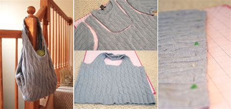 How To Make Handmade Bags Step By Step - repurposing sweaters 10 cool things to make this winter