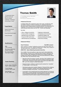 Resume Templates For Business Professionals Professional Resume Template Resume Cv