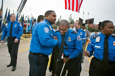 Transportation Security Officer by Memorial Held For Tsa Officer Killed In Lax