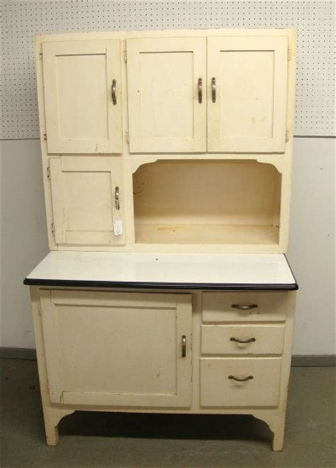 vintage white hoosier kitchen cabinet by roosterriver on etsy