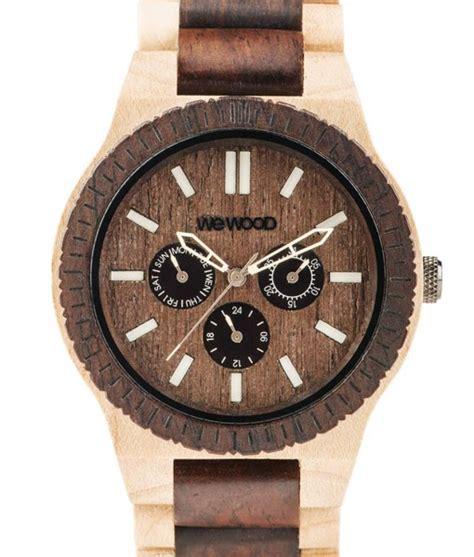 d 233 couvrez les montres pour homme en bois les plus tendance pivert