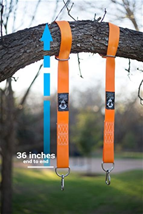tree swing straps grrillastraps tree patio swing mounting straps for