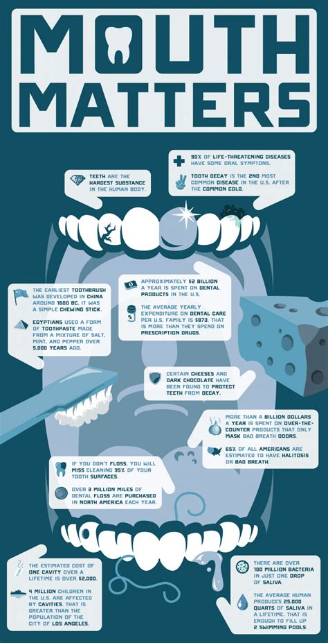 trivia facts your matters dental facts visual ly