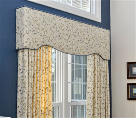 Custom Upholstered Window Cornices Upholstered Valance Ideas Quotes