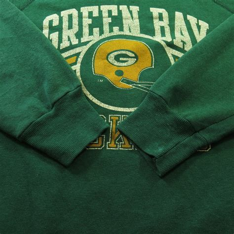green bay packers l vintage 80s green bay packers chion sweatshirt mens l
