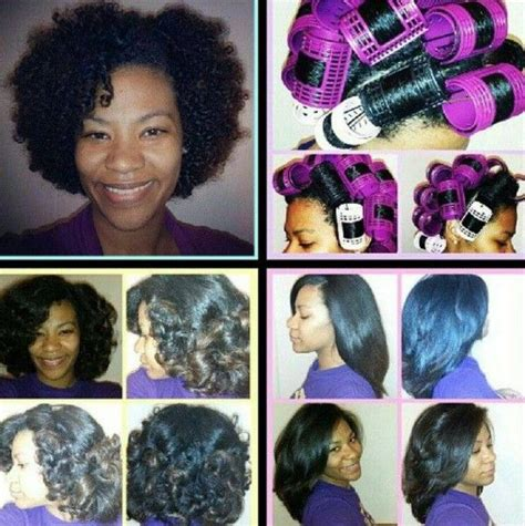 what are the best rollers for blackhair roller set on natural hair http www